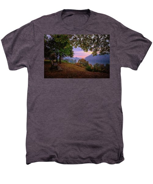 Sunrise At River Rd  Men's Premium T-Shirt