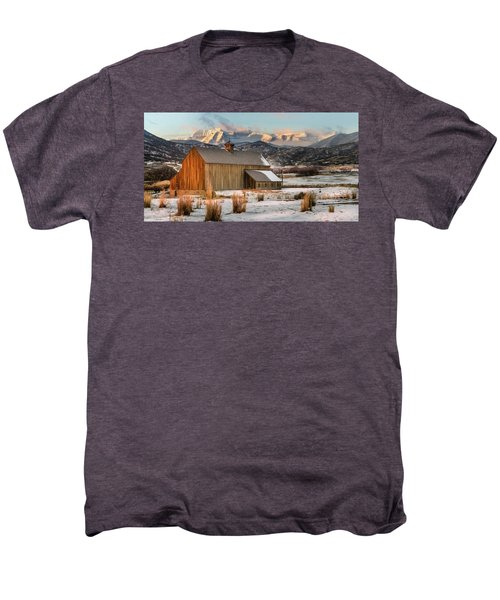 Sunrise At Tate Barn Men's Premium T-Shirt