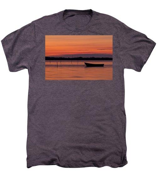 Sunset Boat Men's Premium T-Shirt