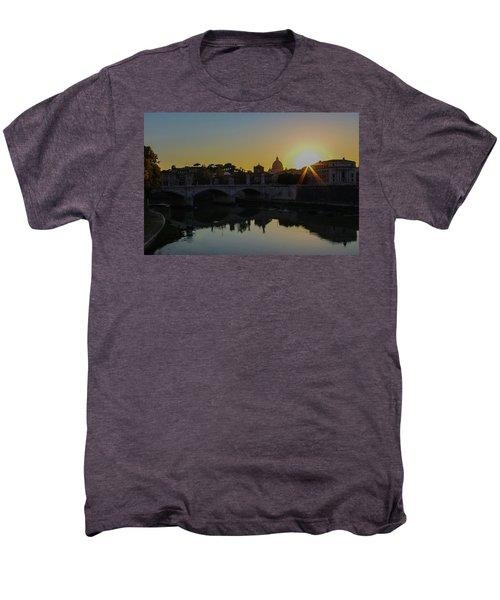 Sunset Over St Peters Men's Premium T-Shirt