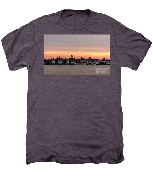 Sunset Over The Grand Floridian Men's Premium T-Shirt