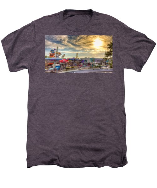 Sunset Over Tomorrowland Men's Premium T-Shirt