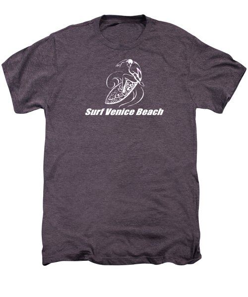 Surf Venice Beach Men's Premium T-Shirt by Brian Edward