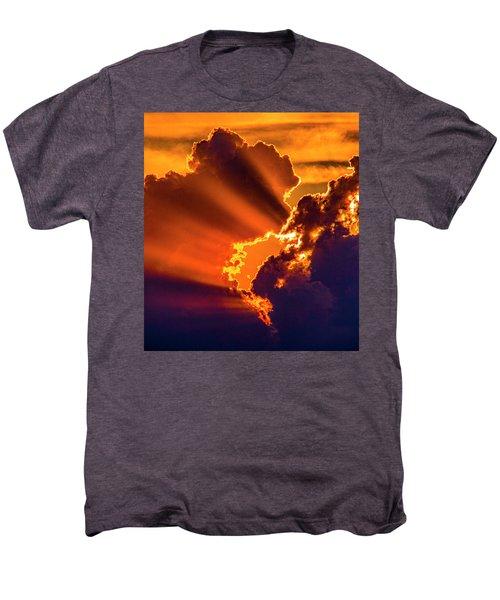 Sweet Nebraska Crepuscular Rays 010 Men's Premium T-Shirt