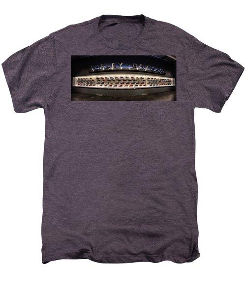 Men's Premium T-Shirt featuring the photograph Tank Wall by Randy Scherkenbach
