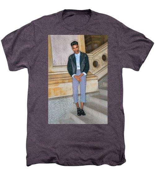 Teenage Boy Fashion 1504267 Men's Premium T-Shirt