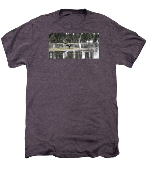 The Announcer  Men's Premium T-Shirt by Betsy Knapp