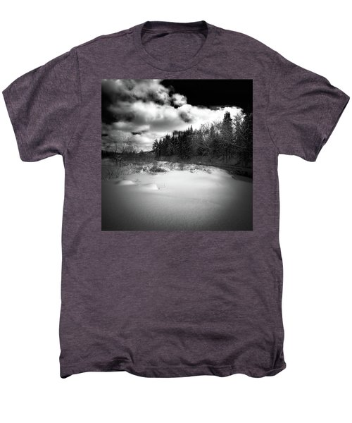 Men's Premium T-Shirt featuring the photograph The Calm Of Winter by David Patterson