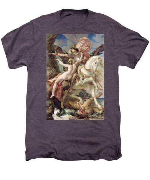 The Deliverance Men's Premium T-Shirt by Joseph Paul Blanc