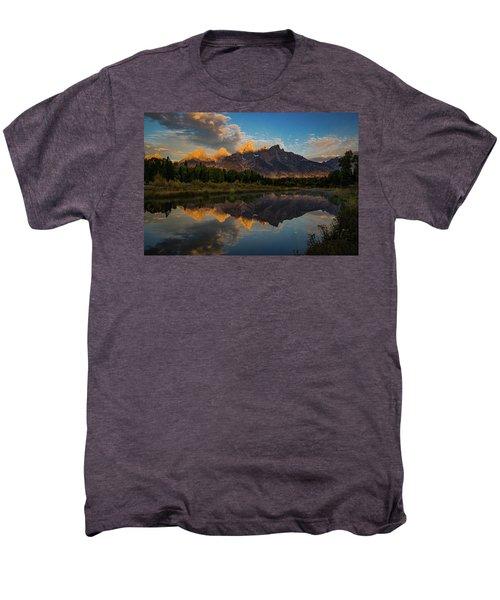 The First Light Men's Premium T-Shirt by Edgars Erglis