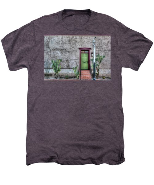 The Green Door Men's Premium T-Shirt by Lynn Geoffroy
