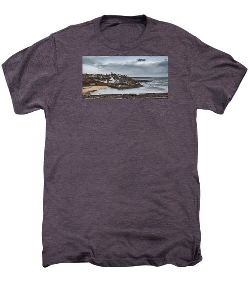 The Harbour Of Crail Men's Premium T-Shirt by Jeremy Lavender Photography