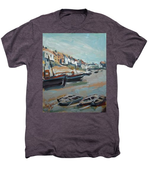 The Harbour Of Mevagissey Men's Premium T-Shirt