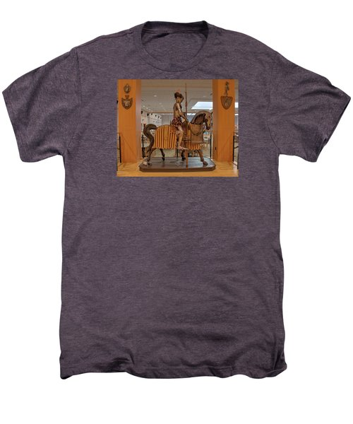 The Knight On Horseback Men's Premium T-Shirt