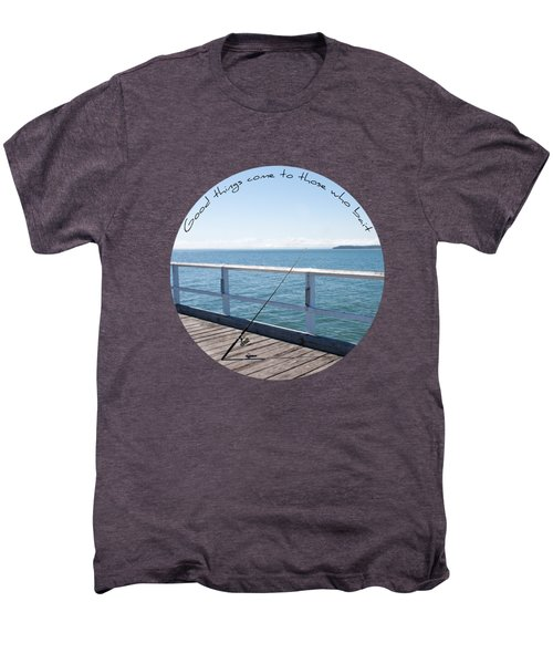 Men's Premium T-Shirt featuring the photograph The Rod by Linda Lees