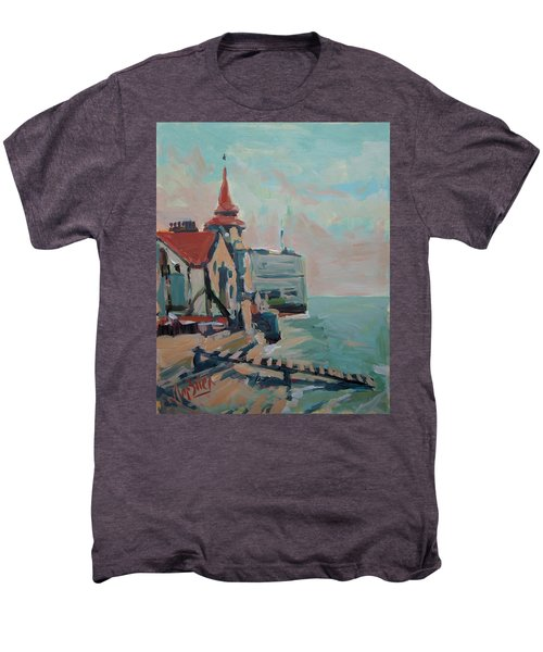 The Round Tower Of Portsmouth Men's Premium T-Shirt