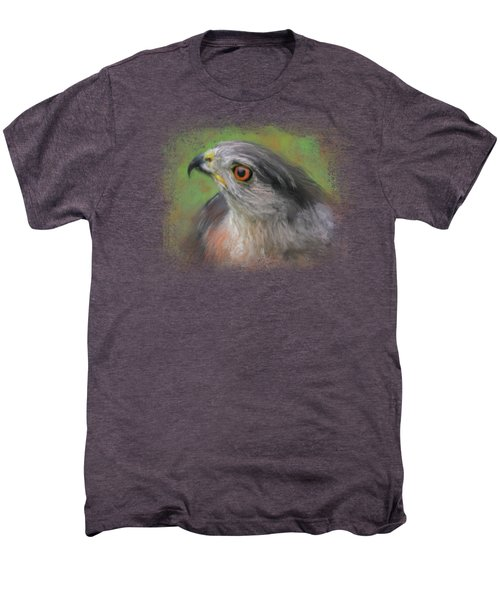 The Sharp Shinned Hawk Men's Premium T-Shirt by Jai Johnson