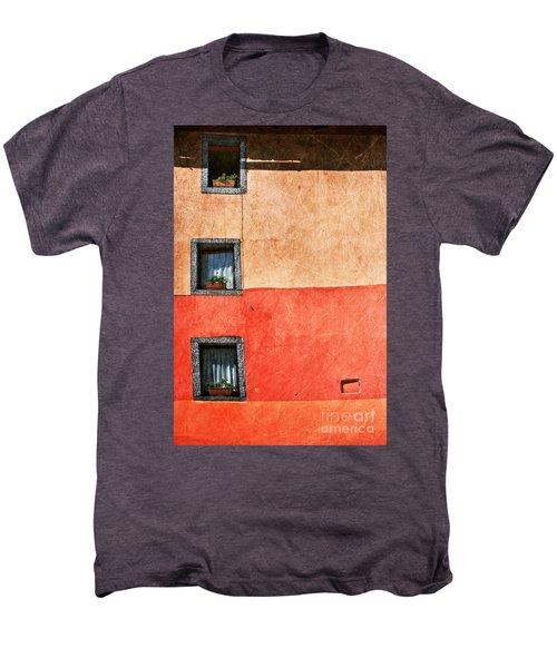 Three Vertical Windows Men's Premium T-Shirt