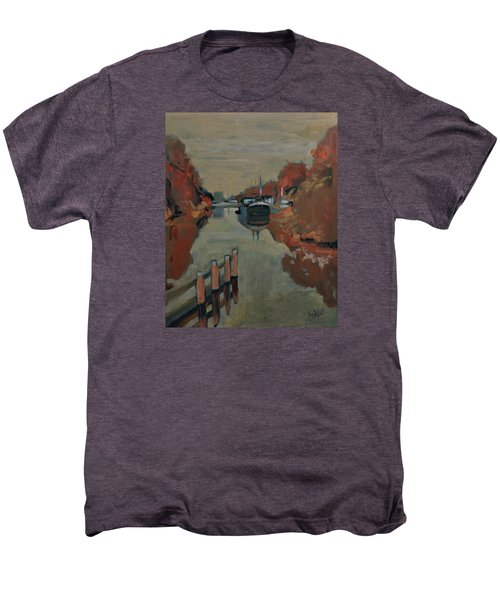 Towards Pius Harbour Men's Premium T-Shirt