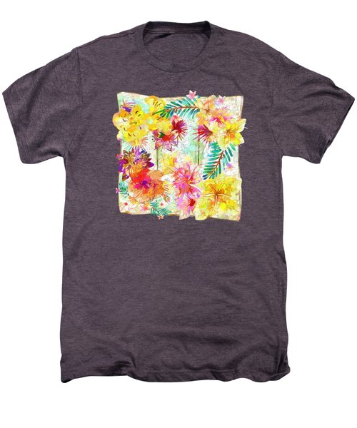 Tropicana Abstract By Kaye Menner Men's Premium T-Shirt