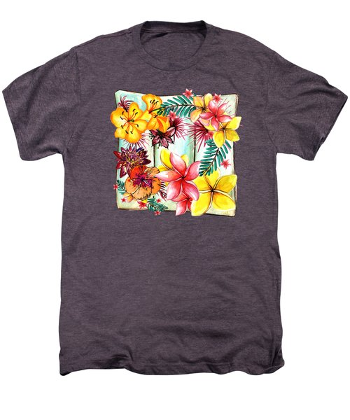 Tropicana By Kaye Menner Men's Premium T-Shirt by Kaye Menner