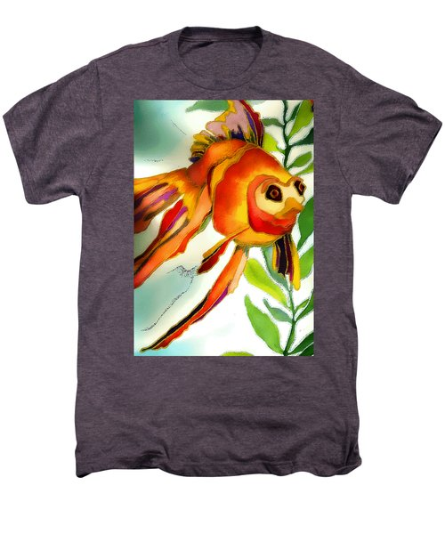 Underwater Fish Men's Premium T-Shirt by Lyn Chambers