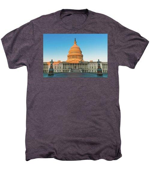 United States Capitol  Men's Premium T-Shirt