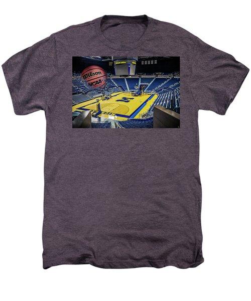 University Of Michigan Basketball Men's Premium T-Shirt