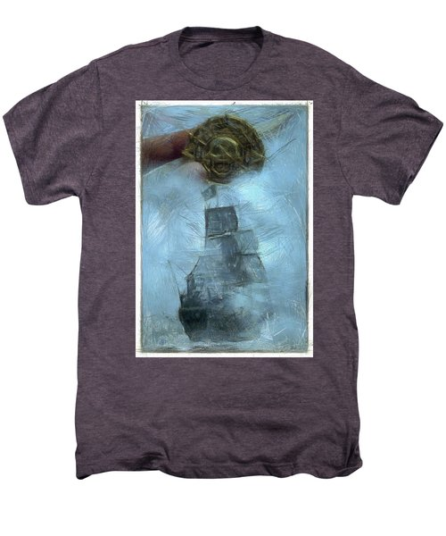 Unnatural Fog Men's Premium T-Shirt by Benjamin Dean