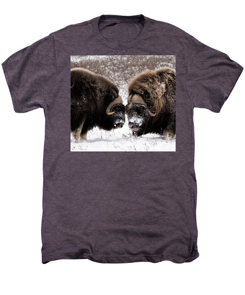 Up Close And Personal Men's Premium T-Shirt