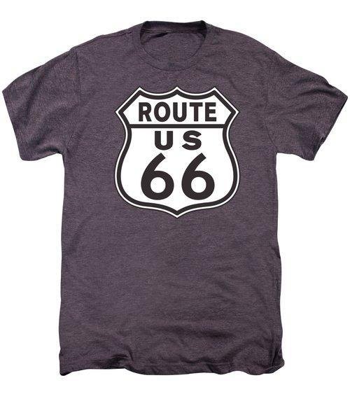 Us Route 66 Sign Men's Premium T-Shirt
