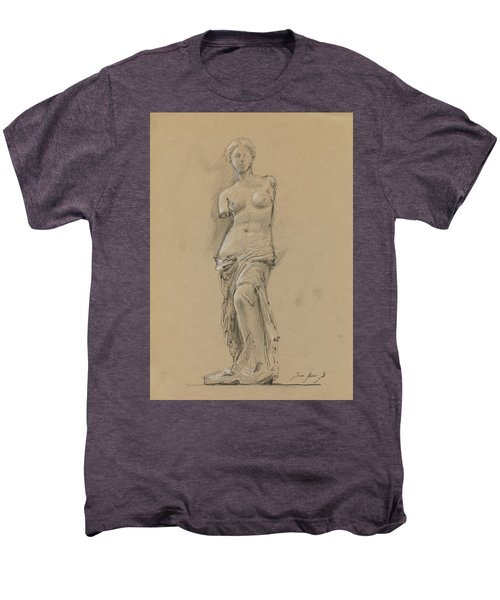 Venus De Milo Men's Premium T-Shirt by Juan Bosco