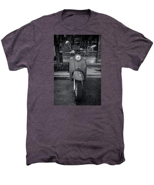 Men's Premium T-Shirt featuring the photograph Vespa by Sebastian Musial