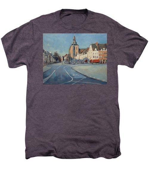 View To Boschstraat Maastricht Men's Premium T-Shirt