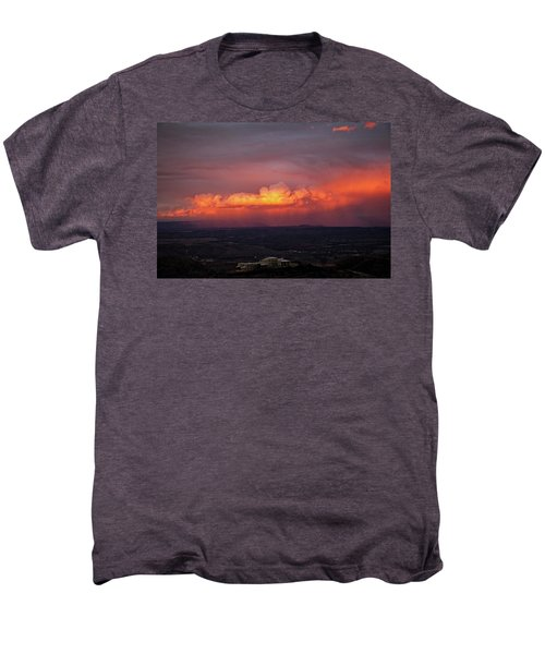 Vivid Verde Valley Sunset Men's Premium T-Shirt
