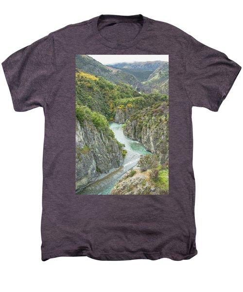 Waimakariri Gorge Men's Premium T-Shirt