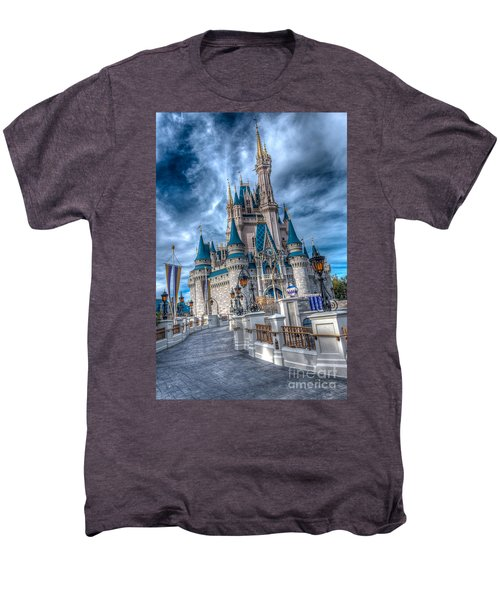 Walkway To Cinderellas Castle Men's Premium T-Shirt