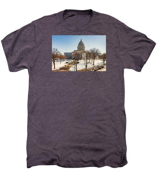 Warm Winter Capitol Men's Premium T-Shirt