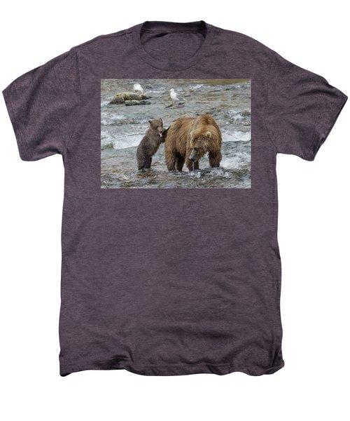 Watching For The Sockeye Salmon Men's Premium T-Shirt