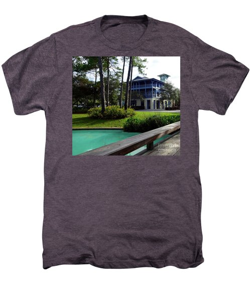 Watercolor Florida Men's Premium T-Shirt by Megan Cohen