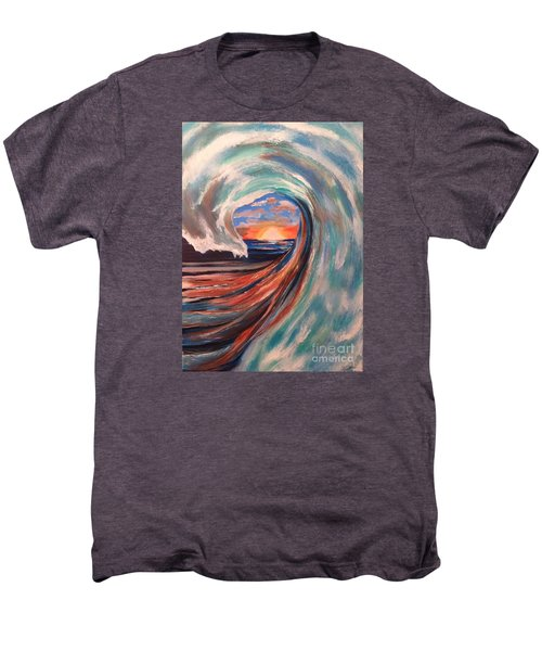 Wave Men's Premium T-Shirt