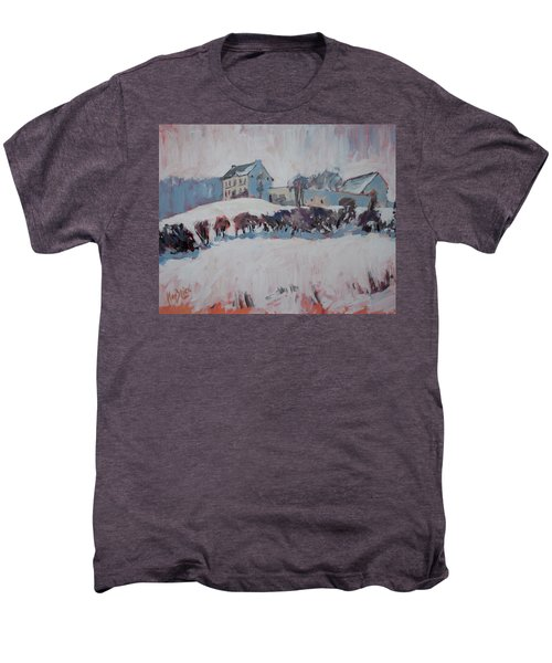 White Hill Zonneberg Maastricht Men's Premium T-Shirt by Nop Briex