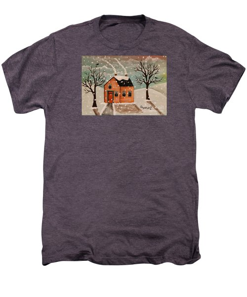 Winter House Men's Premium T-Shirt