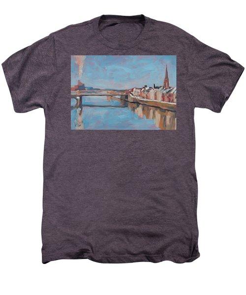 Winter In Wyck Maastricht Men's Premium T-Shirt