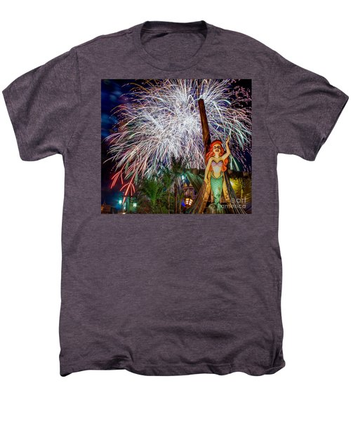 Wishes Over Prince Eric's Castle Men's Premium T-Shirt