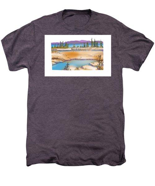 Yellowstone Men's Premium T-Shirt by Kathryn Launey