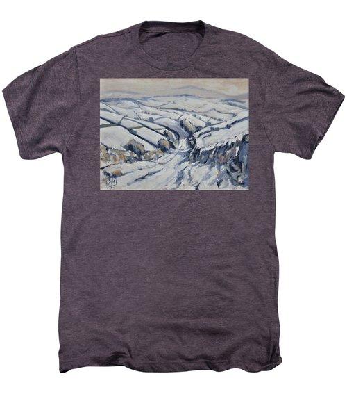 Yorkshire In The Snow Men's Premium T-Shirt