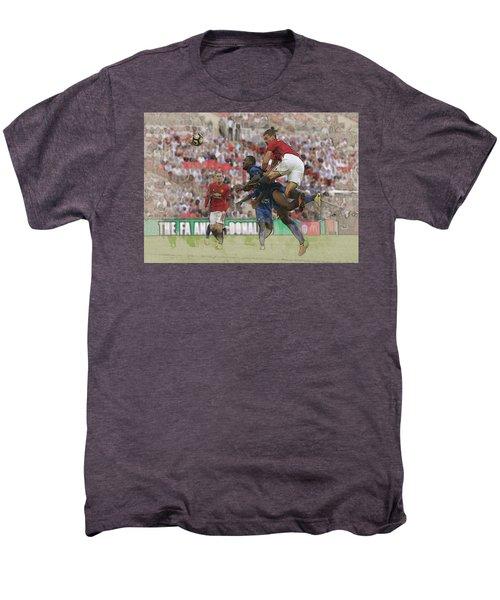 Zlatan Ibrahimovic Header Men's Premium T-Shirt