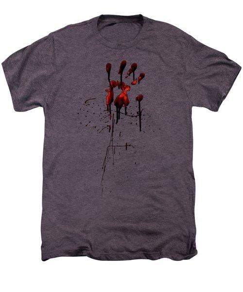 Zombie Attack - Bloodprint Men's Premium T-Shirt