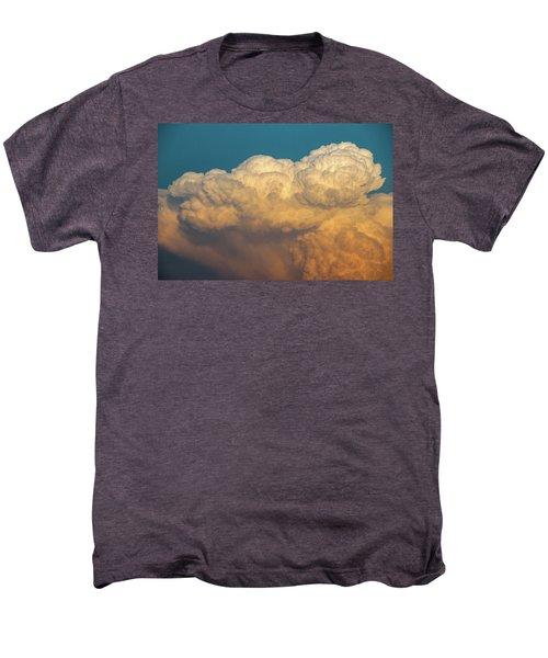 Nebraska Sunset Thunderheads 053 Men's Premium T-Shirt